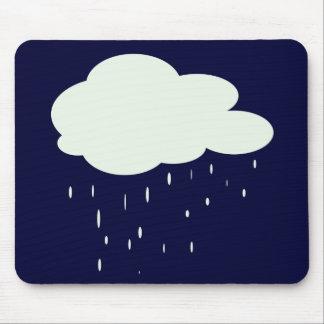 雨の天候 マウスパッド
