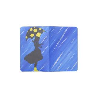 雨の女の子 ポケットMoleskineノートブック
