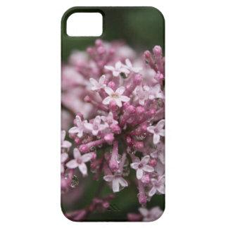 雨の携帯電話の箱のライラック iPhone SE/5/5s ケース