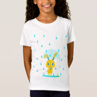 雨の日うさぎ Tシャツ