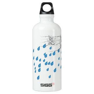 雨の日のSiggの水差し ウォーターボトル