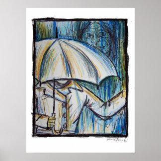 雨の日ポスター ポスター