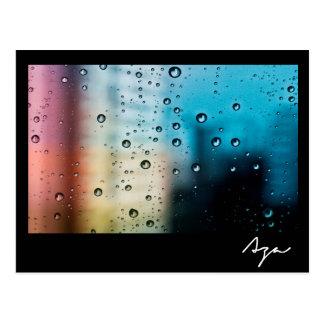 雨の日 はがき