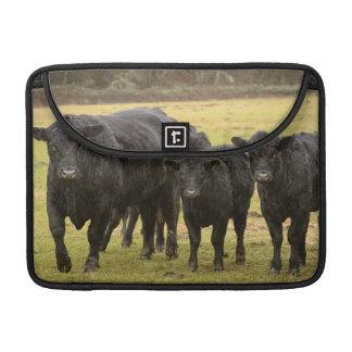 雨の牛 MacBook PROスリーブ