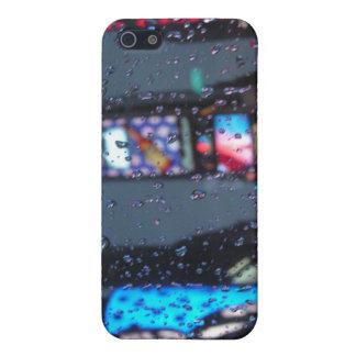 雨の眺め iPhone 5 ケース