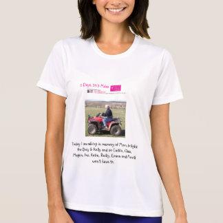 雨の2011チームダンス- Christieのワイシャツ Tシャツ