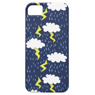 雨は雷雲に押しかけます iPhone SE/5/5s ケース