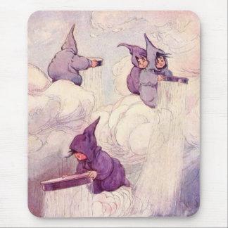 雨を作る雨妖精の国 マウスパッド