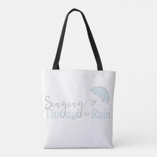 雨トートバックを通って歌うこと トートバッグ