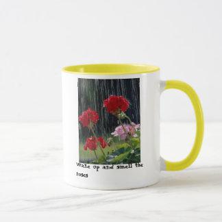 雨バラ マグカップ