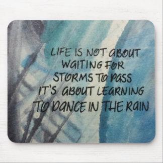 雨マウスパッドのダンス マウスパッド
