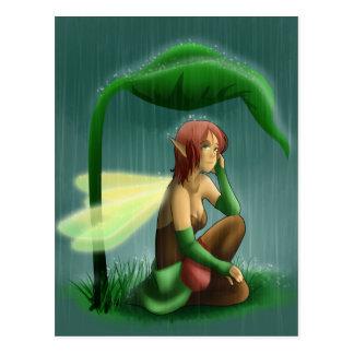 雨妖精 ポストカード