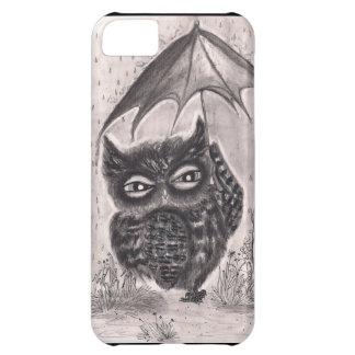 雨嵐のフクロウ iPhone5Cケース