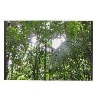 雨林のおおいの熱帯緑による日光 POWIS iPad AIR 2 ケース
