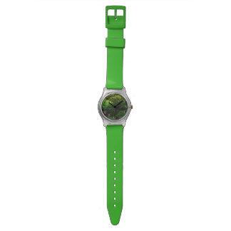 雨林のジャングルの自然恋人の腕時計 腕時計