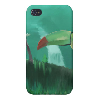 雨林のToucan iPhone 4/4S カバー