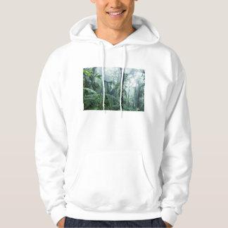 雨林、Monteverdeの雲の森林、コスタリカ パーカ