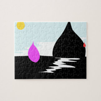 雨滴の日没 ジグソーパズル