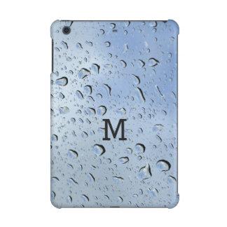 """""""雨滴""""のカスタムなモノグラム装置ケース iPad MINI RETINAケース"""