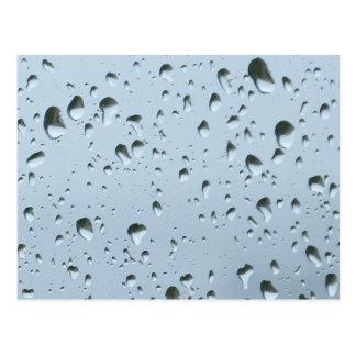 雨滴 ポストカード