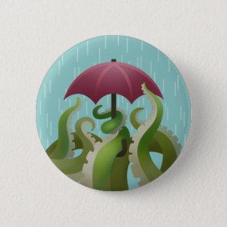 雨滴: ライム 5.7CM 丸型バッジ