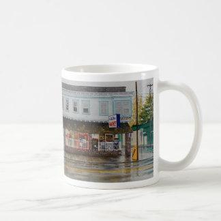 雨監視人のマグ コーヒーマグカップ