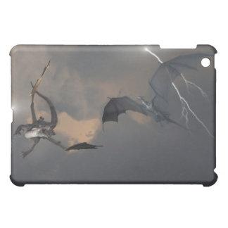 雨雲で戦うドラゴン iPad MINIケース