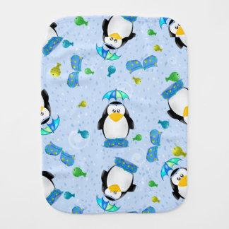 雨靴のペンギン バープクロス