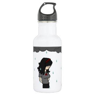 雨1の女の子 ウォーターボトル