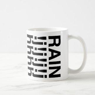 """""""雨"""" コーヒーマグカップ"""