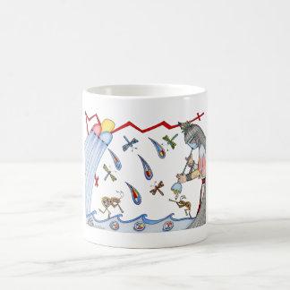 雨 コーヒーマグカップ