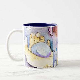 雨 ツートーンマグカップ