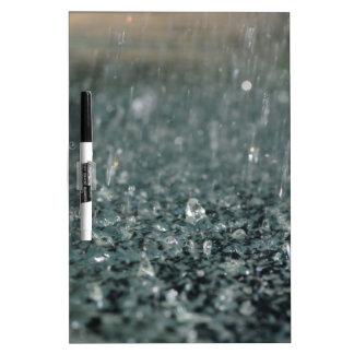 雨 ホワイトボード