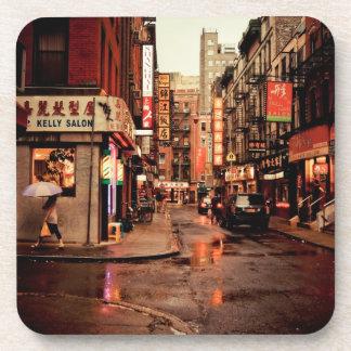 雨-中華街-ニューヨークシティ コースター