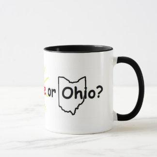 雨、輝やきまたはオハイオ州か。 マグカップ