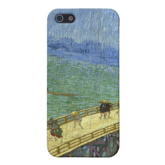 雨(Hiroshigeの後で)ゴッホの橋 iPhone 5 Case