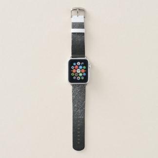 雨Appleの白黒腕時計 Apple Watchバンド
