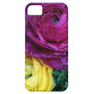 雨iPhoneのロックフェラーのRanunculus iPhone 5 Case