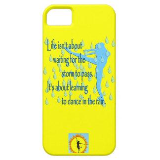 雨iPhone 5の場合のダンス iPhone SE/5/5s ケース