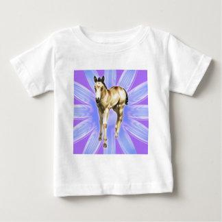 雨QH雌の子馬 ベビーTシャツ