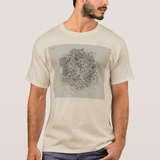 雨Tシャツの後の灰色のバラ Tシャツ