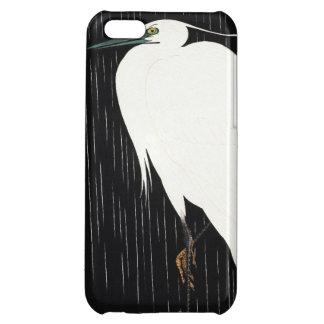 雨ukiyo-eの日本語のIde Gakusuiの白い鷲 iPhone5C