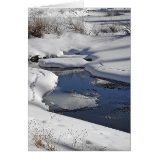 雪および水 カード