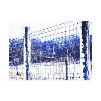 雪および氷のキャンバスのプリント キャンバスプリント