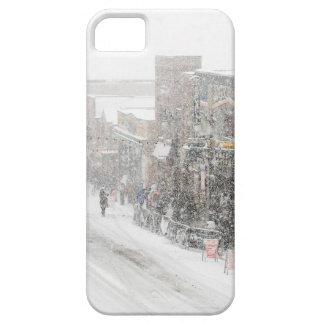 雪が多い日 iPhone SE/5/5s ケース