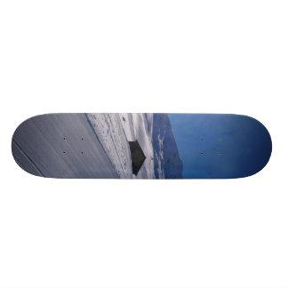 雪が多い景色 カスタムスケートボード