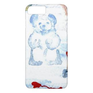 雪くまのSnowyの冬白くかわいいCricketDiane iPhone 8 Plus/7 Plusケース