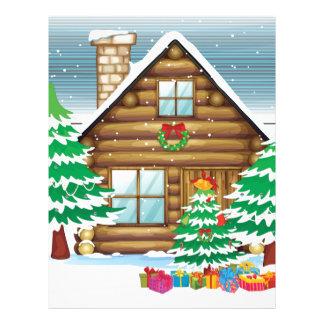 雪だるまおよび家 レターヘッド