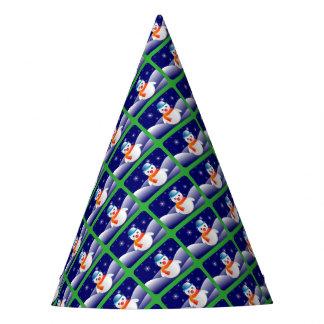 雪だるまのパーティーの帽子 パーティーハット