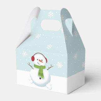 雪だるまの休日の応援 フェイバーボックス